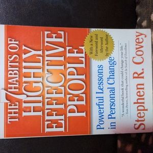 Used Paperback book, the 7 habits of highly effective people